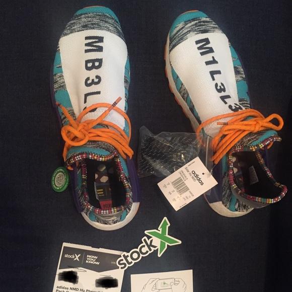 huge discount 719b5 aadfc Pharrell Adidas X NMD HUMAN RACE PHARRELL NWT
